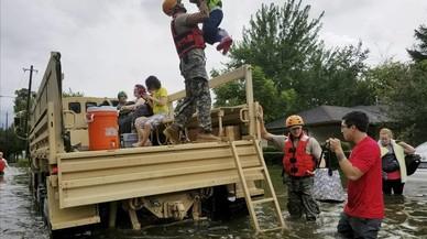 Galeria de fotos del 'Harvey' al seu pas per la ciutat de Houston
