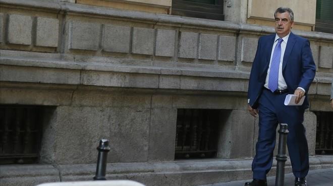 El juez Ismael Moreno