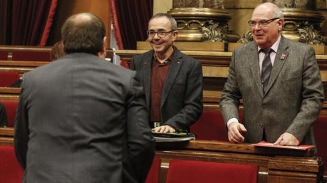 Catalunya Sí que es Pot se suma con peros a la cumbre del referéndum del 23-D