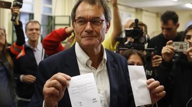 """Mas afirma que Catalunya aún no está lista para una """"independencia real"""""""