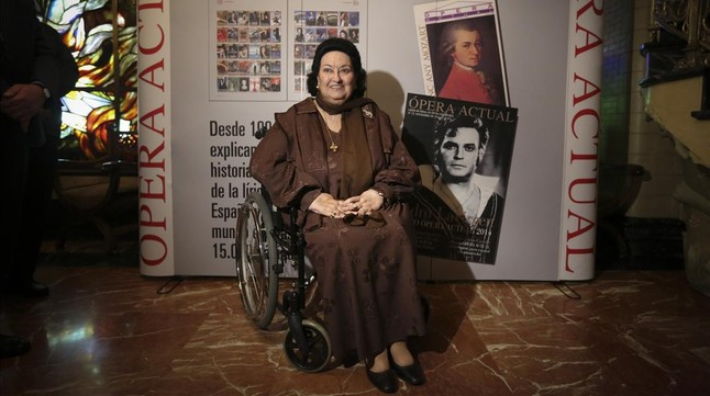 Montserrat Caballé acepta una condena de seis meses de prisión por fraude fiscal