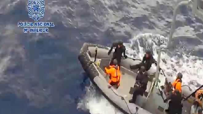 Operació contra el narcotràfic Espanya-Marroc