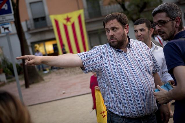 """Junqueras advierte a Mas de que Catalunya debe decidir su futuro """"en el 2014"""""""