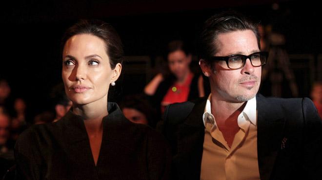 Pitt i Jolie,units per un divorci molt íntim.