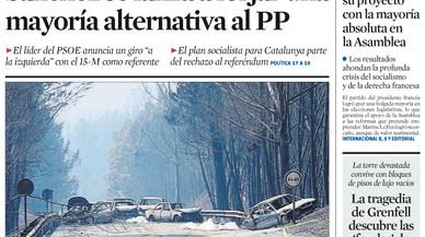 La premsa de Madrid critica Sánchez