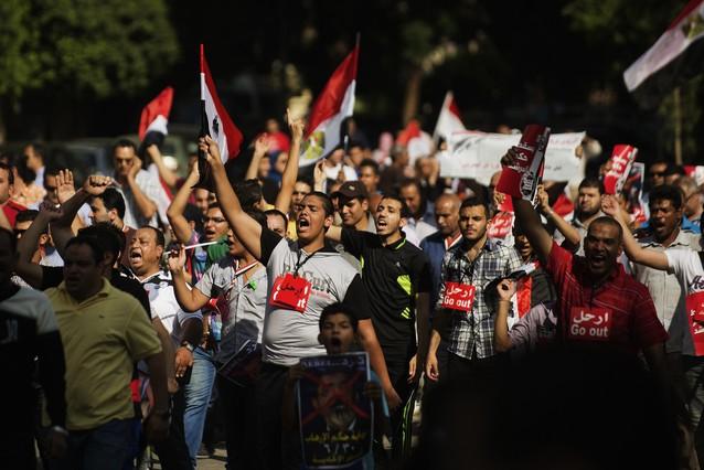 Los egipcios vuelven a ocupar Tahrir contra el presidente Mursi