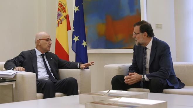 Rajoy tanca amb Duran i Herzog la ronda de contactes amb els partits sobre el conflicte català