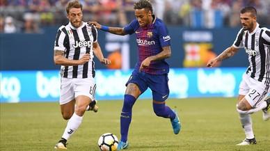 Neymar encara segueix al Barça