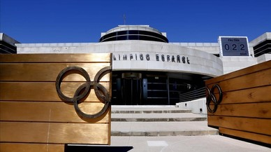La sede del Comit� Ol�mpico Espa�ol en Madrid.
