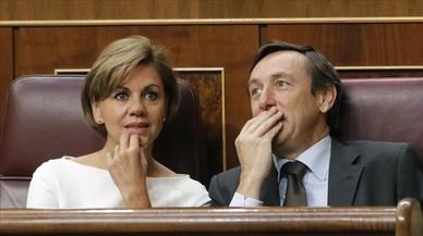 """El PP explica que va arribar a """"un acord puntual"""" amb CDC, el PNB i Coalició Canària"""