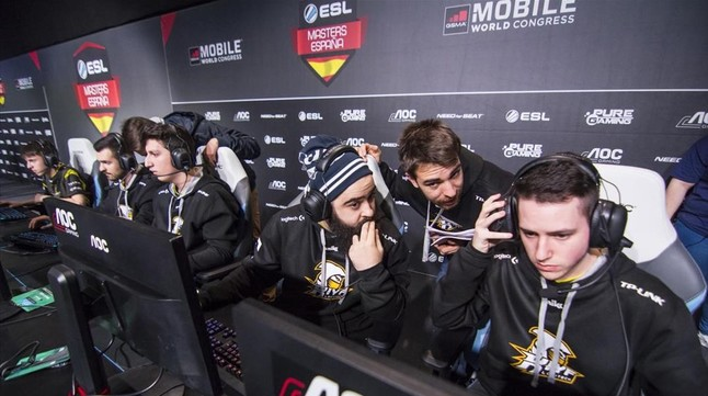 ESL Expo Barcelona re�ne a los campeones de los e-Sports