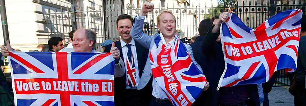Victoria de los partidarios del 'brexit'.