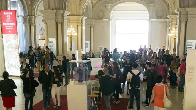 Más de 175.000 personas participan en Barcelona en la Nit dels Museus