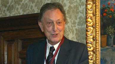 Mor Eduard Castellet, president emèrit de la Fundació Miró