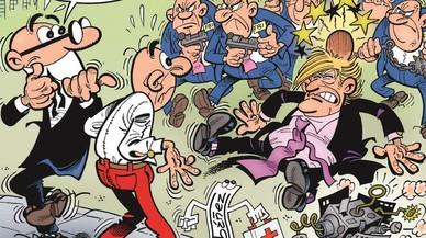 Mortadel·lo i Filemó despentinen el tupè de Trump