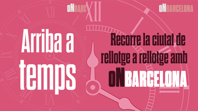 On Barcelona - Rellotges