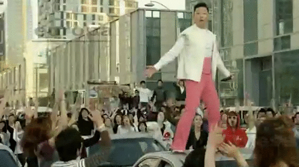 PSY 'Right Now'.