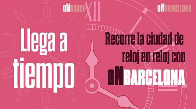 Vídeo promocional On Barcelona - Relojes de BCN