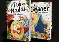 Libros infantiles de Navidad con adhesivos