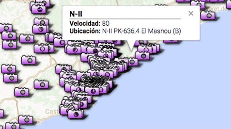 Catalunya pasará de 13 a 21 radares de tramo antes de que acabe el año