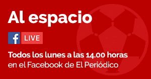'Al espacio', todos los lunes en el Facebook Live de EL PERIÓDICO, a las 14 horas