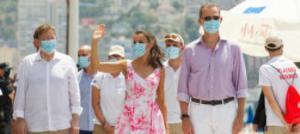 """Los empresarios reclaman ante los Reyes """"certidumbre"""" y que """"no se criminalice al turismo"""""""