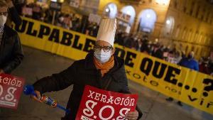La apertura parcial de la hostelería arranca en Santiago, Ourense y A Estrada