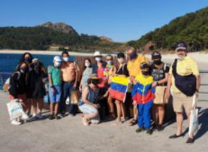El acento venezolano desbanca al portugués en Vigo