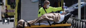 Los fallecidos en España sobrepasan los 13.000 pero siguen a la baja