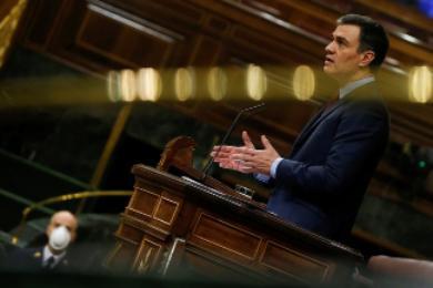 Sánchez anuncia otra prórroga de la alarma hasta el 10 de mayo
