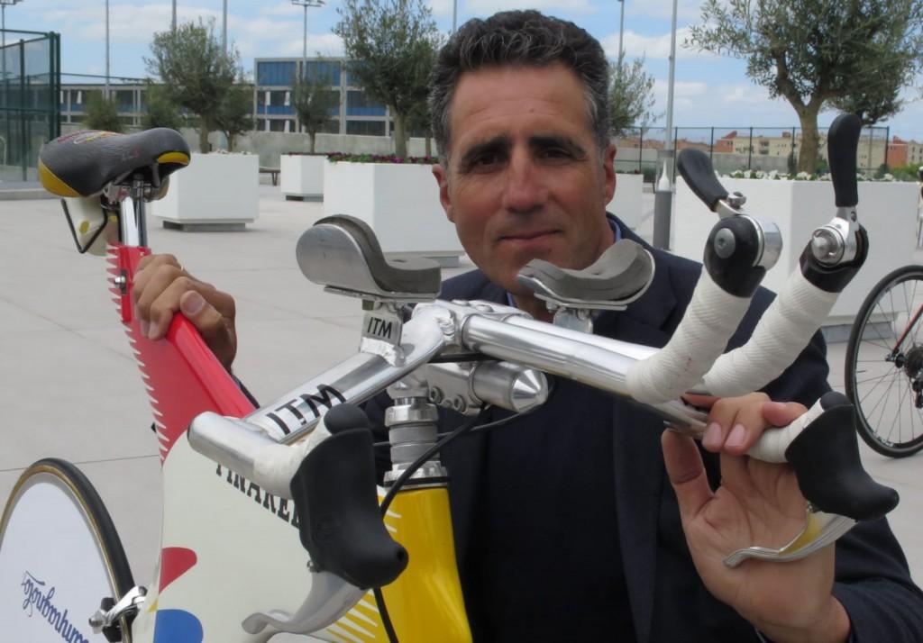 Los 54 'maillots' de Miguel Induráin