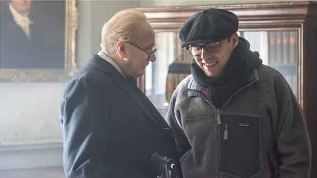 La película El instante más oscuro está protagonizada por un irreconocible Gary Oldman.