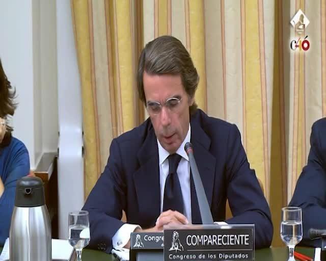 """Aznar nega la caixa B i diu que ell només es dedicava a """"la política"""""""