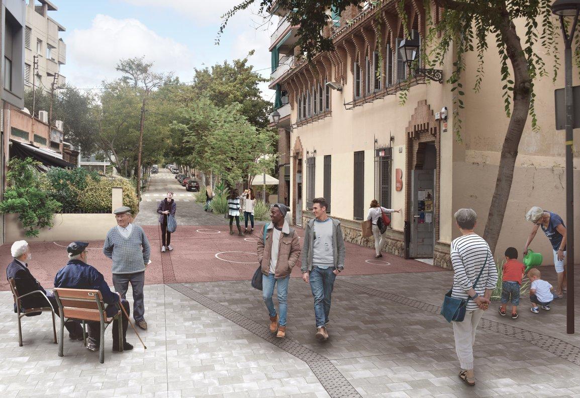 Imagen virtual de Feliu i Codina, tras la reforma.
