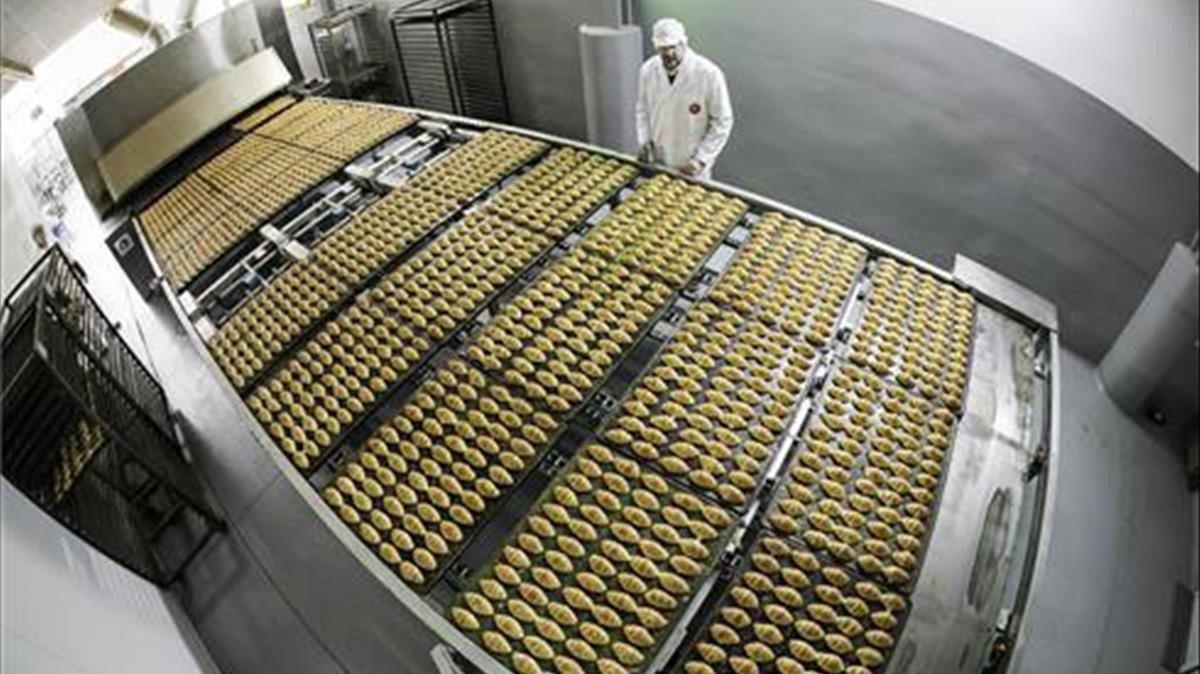 Fábrica de Dori Dori, con todos los procesos automatizados.