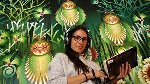 """Juliana Rueda: """"Escoltar un bon audiollibre és com llegir"""""""