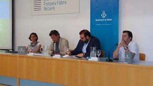 Acto de presentación del Plan de Acción para la Energía Sostenible y el Clima de Mataró.