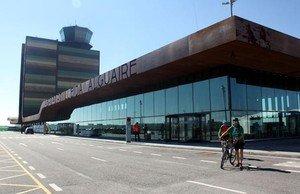 El aeropuerto de Alguaire, en Lleida.