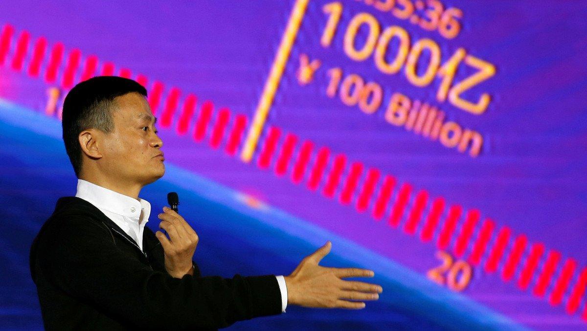El presidente ejecutivo y fundador del gigante del comercio electrónico chino Alibaba, Jack Ma.