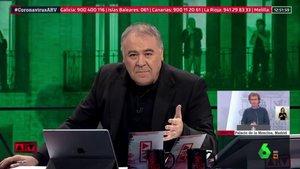 Antonio García Ferreras en 'Al rojo vivo'.