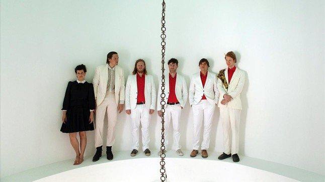El grupo Arcade Fire es uno de los principales reclamos de la nueva edición delfestival Primavera Sound.