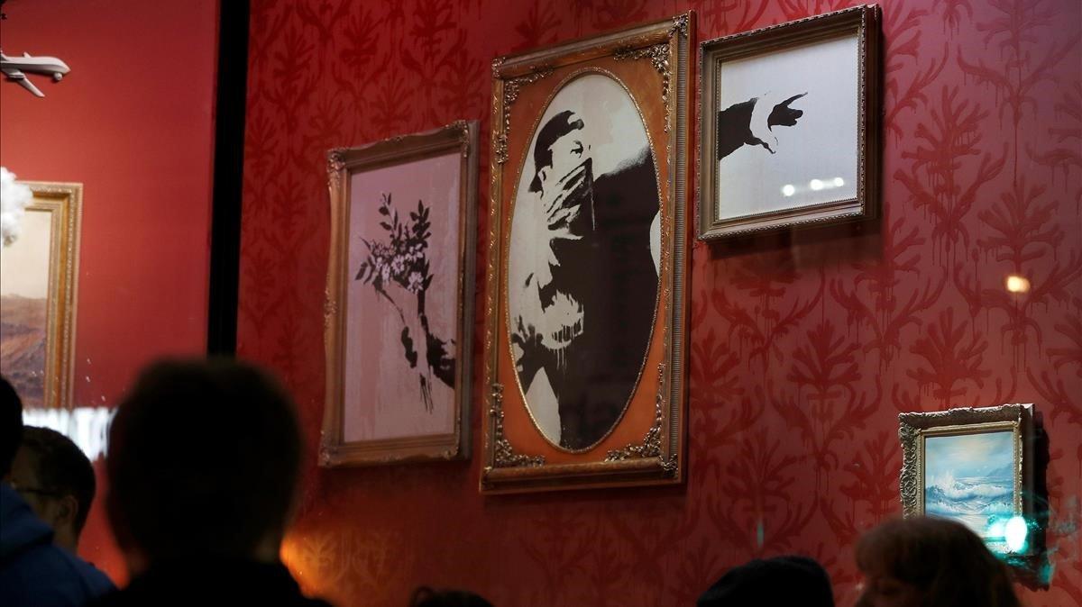 La tienda que ha abierto Banksy en Londres