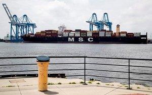 Barco donde las autoridades de los EEUUincautaron de 16,5 toneladas de cocaína.