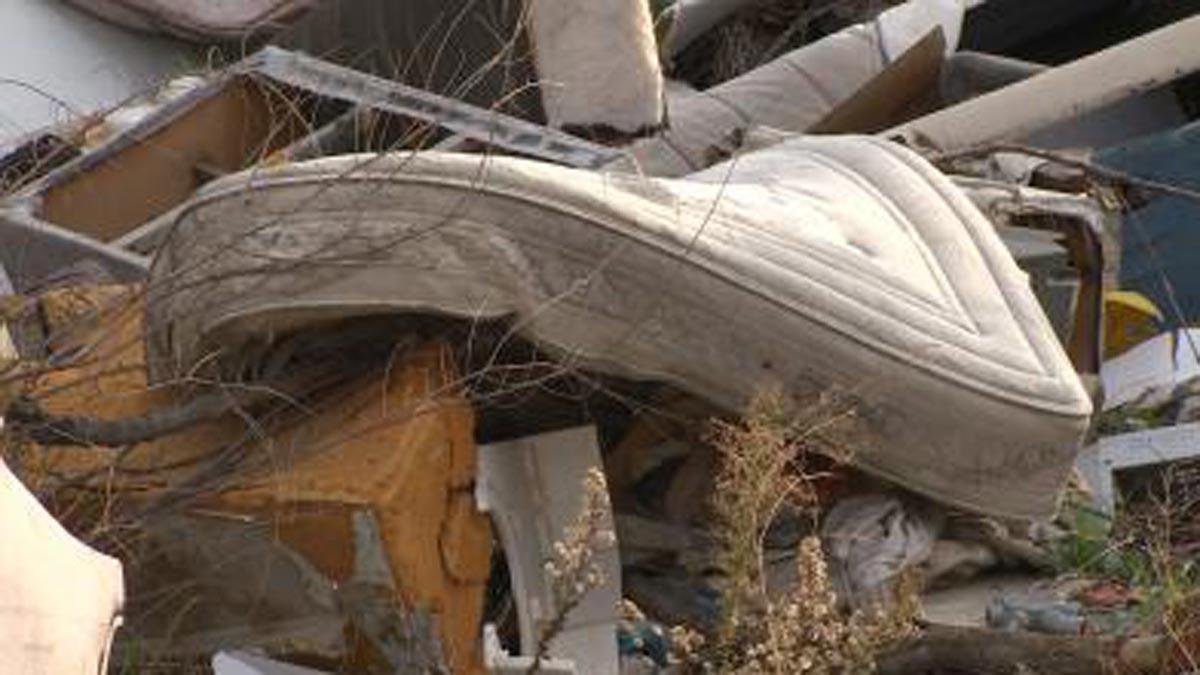 El cadáver de la mujer fue encontrado en un descampado en Madrid.