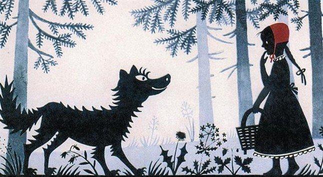 CAPUTXETA VERMELLA, ALERTA ANTIPEDOFÍLIA 3 Els Grimm hi van afegir el caçador salvador que treu la Caputxeta de la panxa del llop. El conte intentava prevenir els nens de la pedofília i del perill dels desconeguts.