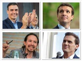10-N: mismos candidatos, nuevas estrategias