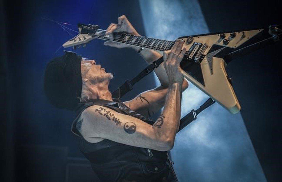 Concierto de MICHAEL SCHENKER en el Festival de musica heavy y rock duro en Can Zam