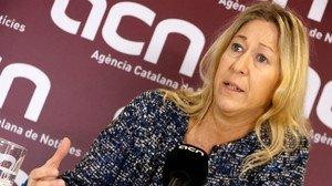 La consellera de Presidència y portavoz del Govern, Neus Munté.