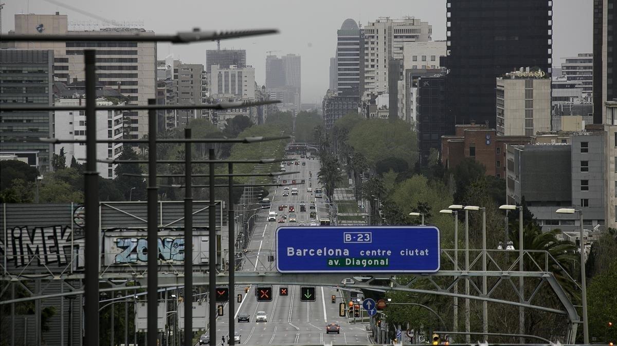 La contaminación cae un 55% en España | Coronavirus
