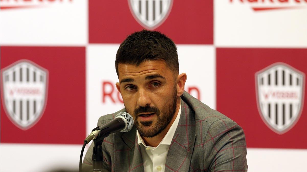David Villa anuncia su retirada del fútbol profesional.